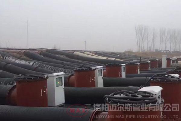 橡胶管黄河900mm输送泥沙项目