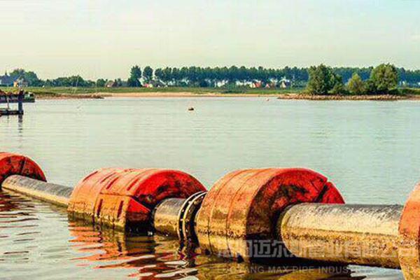 500mmPE管及浮体疏浚案例