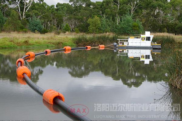 澳大利亚159mm超高管浮体疏浚项目