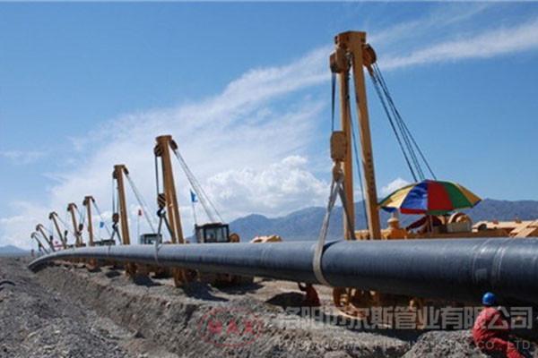 HDPE管道-国内7100mm输水项目